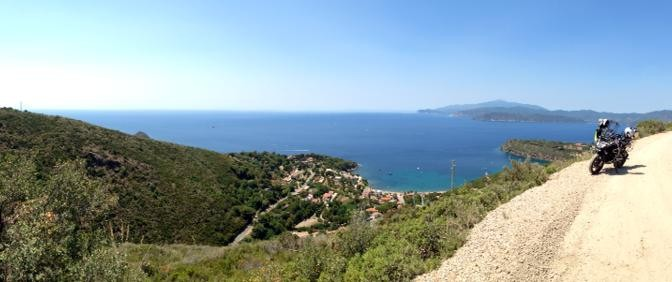 Elba geschottert